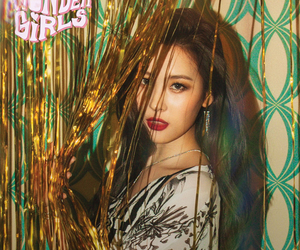 wonder girls, sunmi, and why so lonely image
