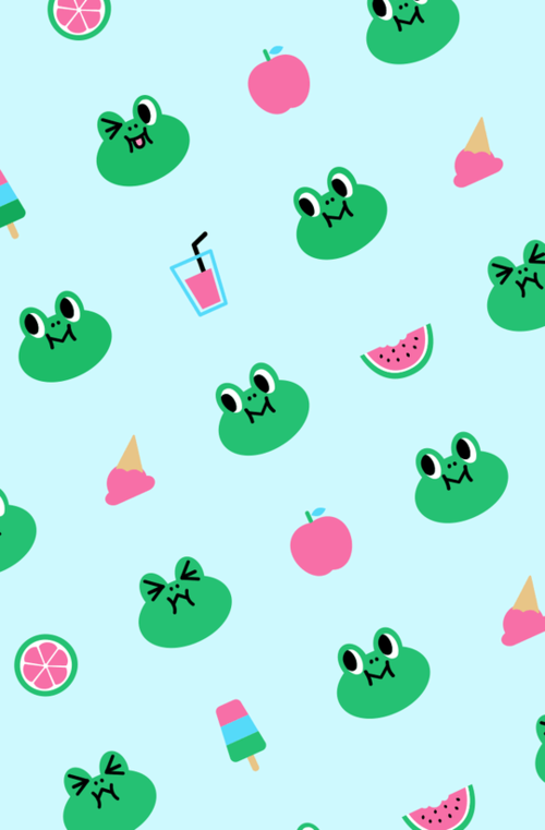 wallpaper, frog, and background image