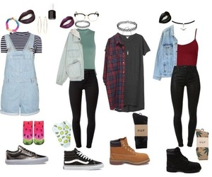 90s, fashion, and outfit image