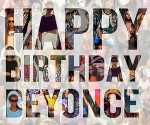 bday, beyonce knowles, and birthday image