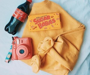 aesthetic, camera, and candy image