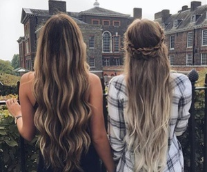 blonde, goals, and long image