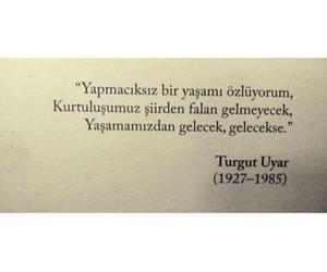 turgut uyar and türkçe sözler image