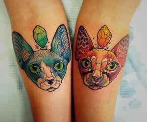 colourful tattoo image