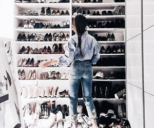 beauty, blue, and closet image