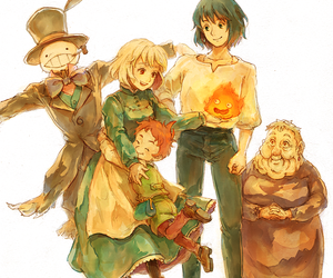 howl's moving castle, studio ghibli, and el castillo ambulante image