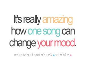 quote, mood, and song image