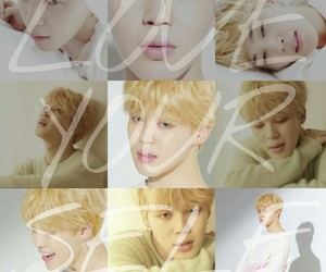 bts, jimin, and loveyourself image