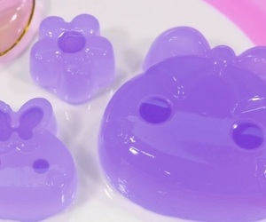 food, kawaii, and purple image