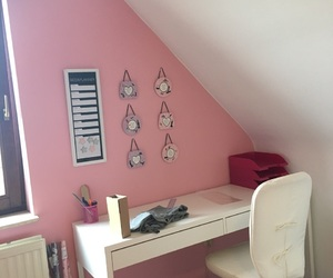 pink, room, and isaura image