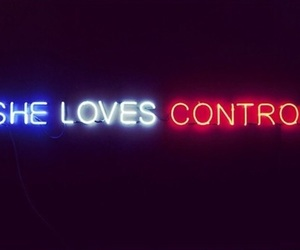 control, light, and neon image