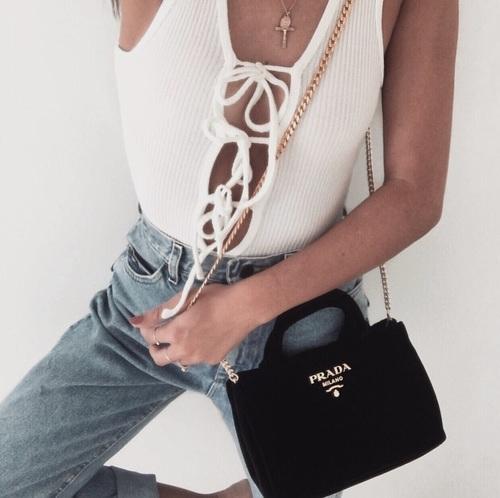 fashion, Prada, and outfit image