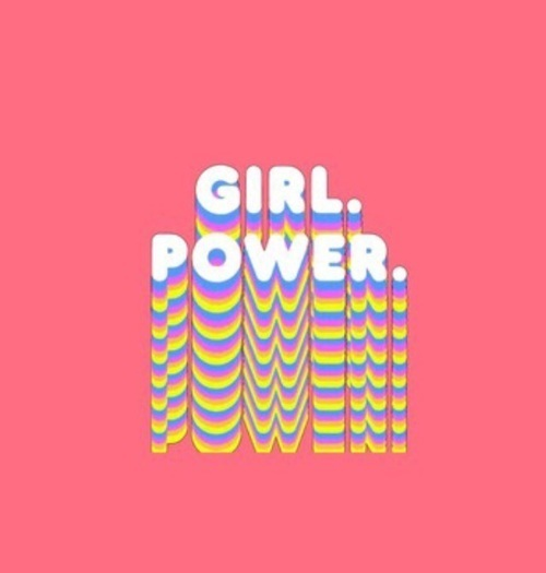 girl power, girl, and feminism image