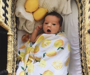 baby and lemon image