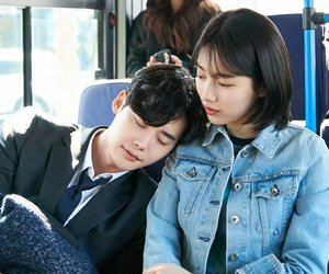 kdrama, suzy, and while you were sleeping image
