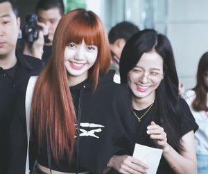 blackpink, jisoo, and lisa image