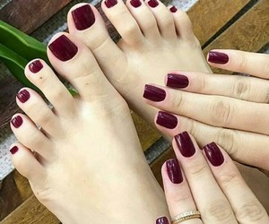 beautiful, girls, and nails image