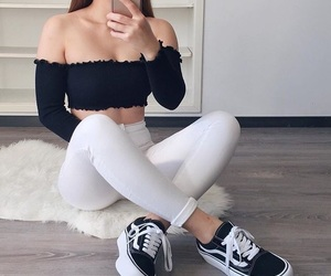 casual, jeans, and tumblr image