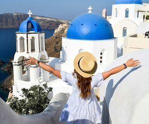 blogger, travel, and oia image