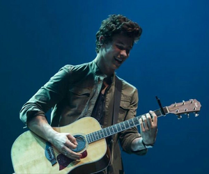 shawn mendes, guitar, and shawn image