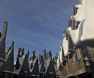 potter, universal studios, and hogsmead image