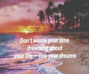 background, beach, and dreams image