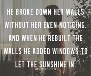 quotes, love, and walls image