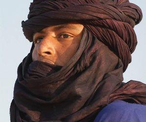 man, tuareg, and north africa image