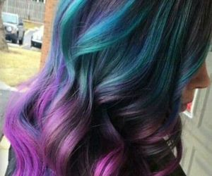 colorful hair image
