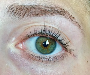 eye, green, and indie image