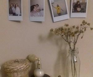 flower and polaroid image