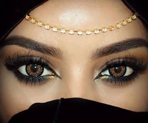 be yourself, eyes, and beauty image