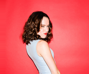 star wars, girl, and daisy ridley image