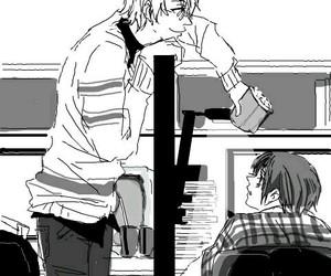 anime, couple, and gay image