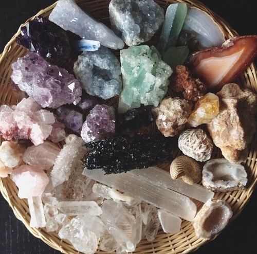 crystal, witch, and magic image
