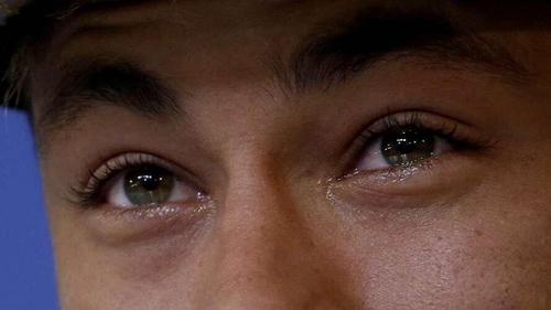 neymar, brazil, and tears image