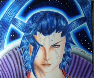 colored pencil, final fantasy, and game image