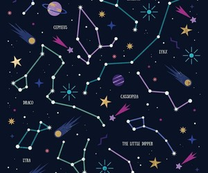 stars, constellation, and wallpaper image