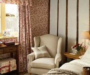 bedroom, laura ashley, and farmhouse style image