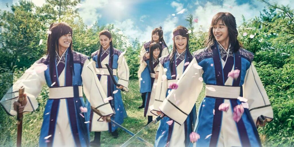 bts, v, and hwarang image