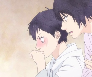 ao haru ride, anime, and kawaii image