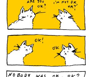illustration, yellow, and lawlz image