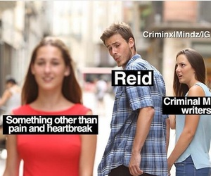 criminal minds and Reid image
