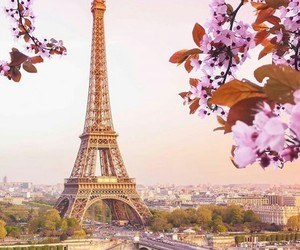 france, vacation, and eiffel tower image
