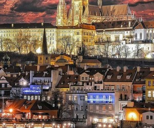 arquitectura, czech republic, and night image