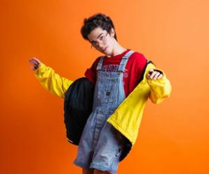 aesthetic, cute boy, and orange image