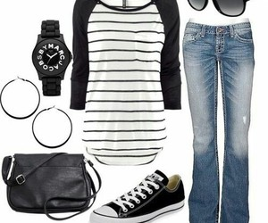 outfit, ropa casual, and ropa image
