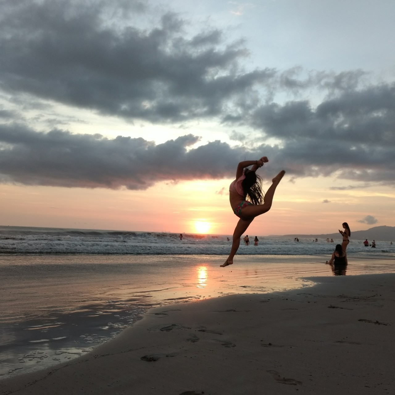 beach, dance, and dreams image
