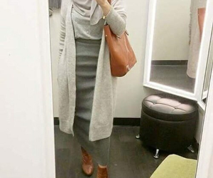 hijab, clothes, and girl image