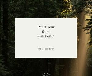 faith, fear, and god image